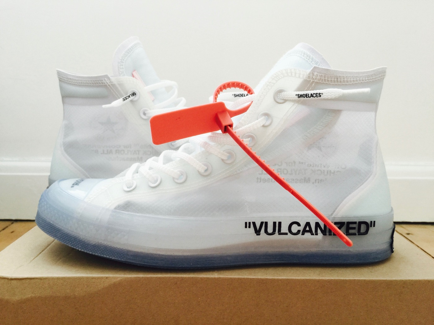 6a919f2026c4 Off White x Converse Chuck Taylor All Star  The Ten  – Up Close. When Nike  debuted the Virgil Abloh ...