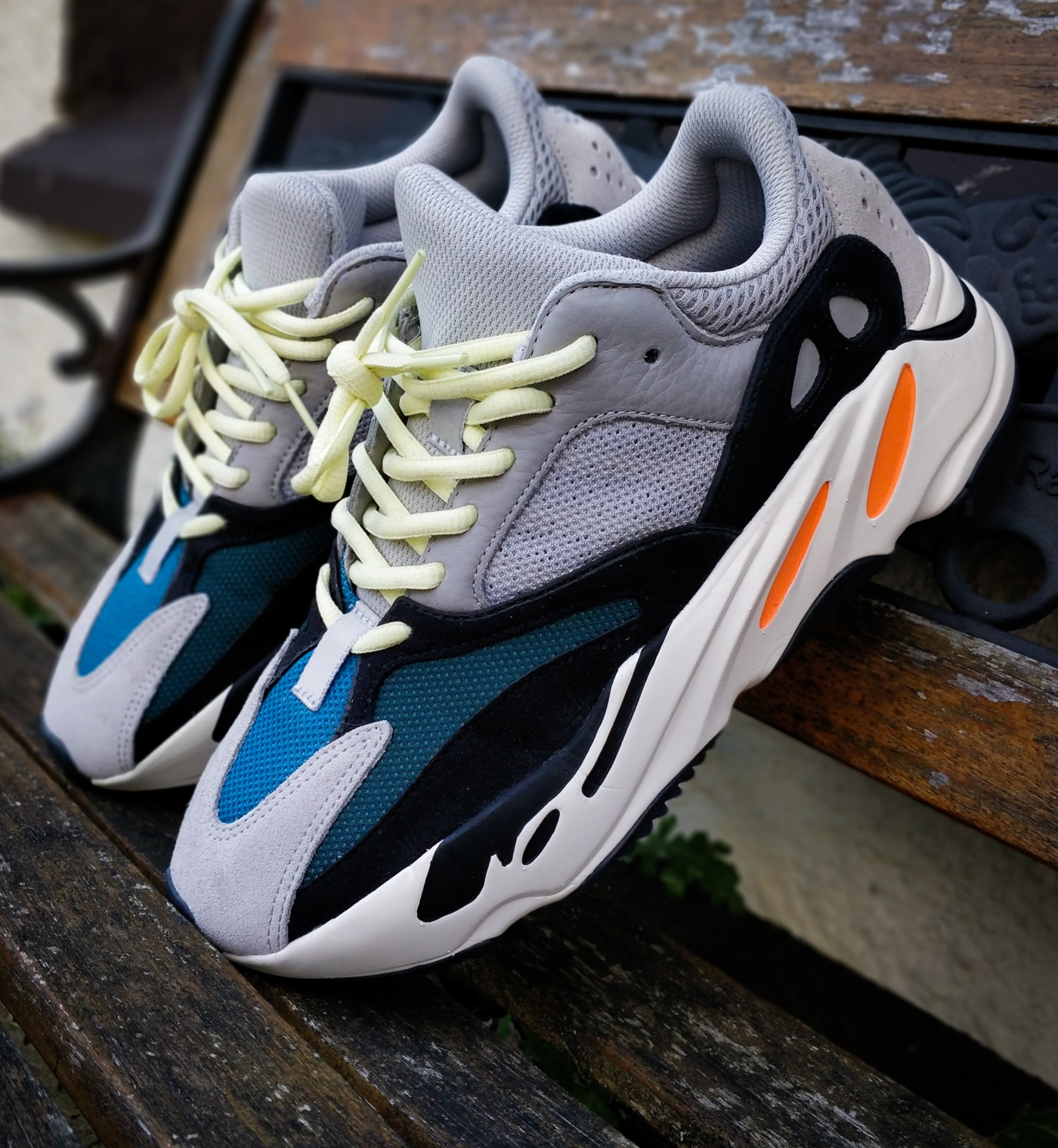 quality design 38071 9bfb2 The Dad Of Dad Shoes? – Yeezy 700 'Wave Runner' Up Close ...